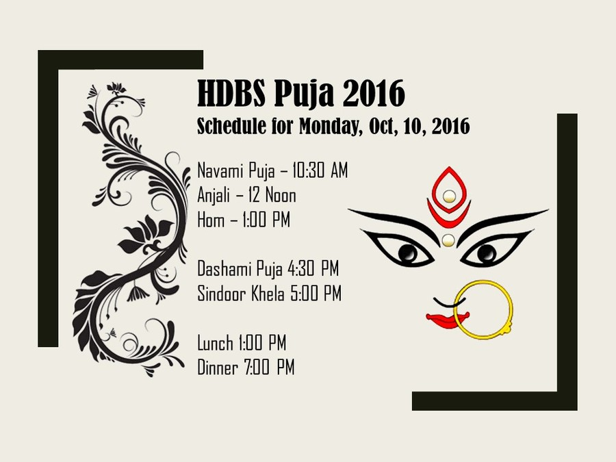 Navami Puja schedule
