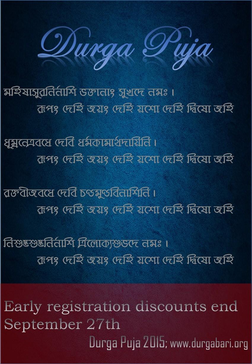 Durga Puja 2015 2