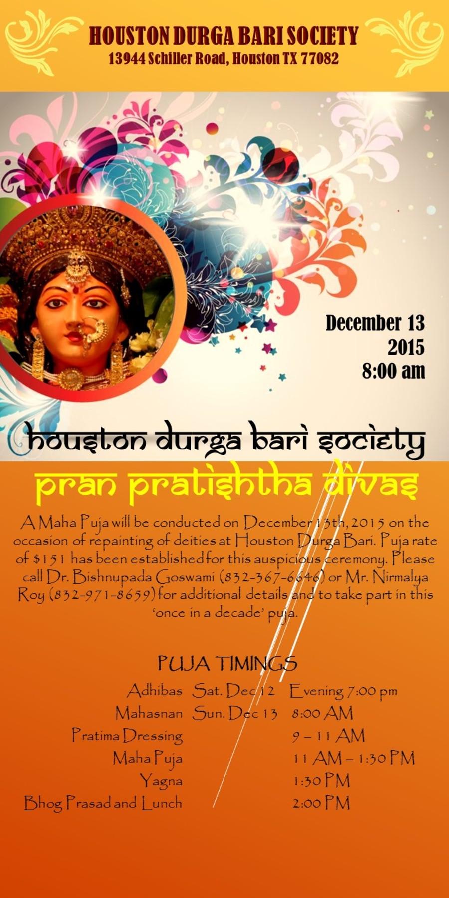 Pran Pratishtha Puja 2015 Short 2